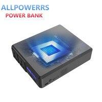 Все power S power Bank 154 Вт 41600 мАч два 110 В AC розетки Внешняя батарея зарядное устройство Беспроводная хранение энергии для телефона ноутбука на отк