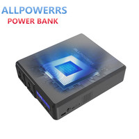 ALLPOWERS Power Bank 154W 41600mAh Two 110V AC Outlets External Battery Charger Wireless Energy Storage for Phone Laptop Outdoor
