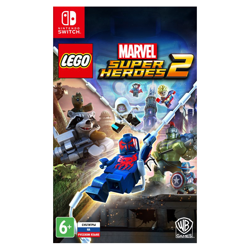 все цены на Game Deals Nintendo Switch LEGO Marvel Super Heroes 2