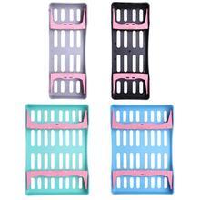 Зубная пластиковая стойка для стерилизации хирургическая коробка Дезинфекция инструментов коробка