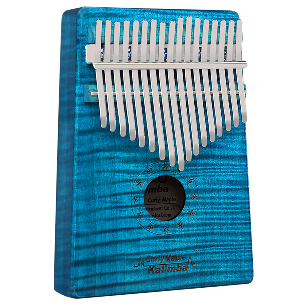 GECKO Kalimba 17 Keys Thumb Piano Curly Maple Ore Steel Bars Kalimba With Tuning Hammer Study Instruction Song BookGECKO Kalimba 17 Keys Thumb Piano Curly Maple Ore Steel Bars Kalimba With Tuning Hammer Study Instruction Song Book