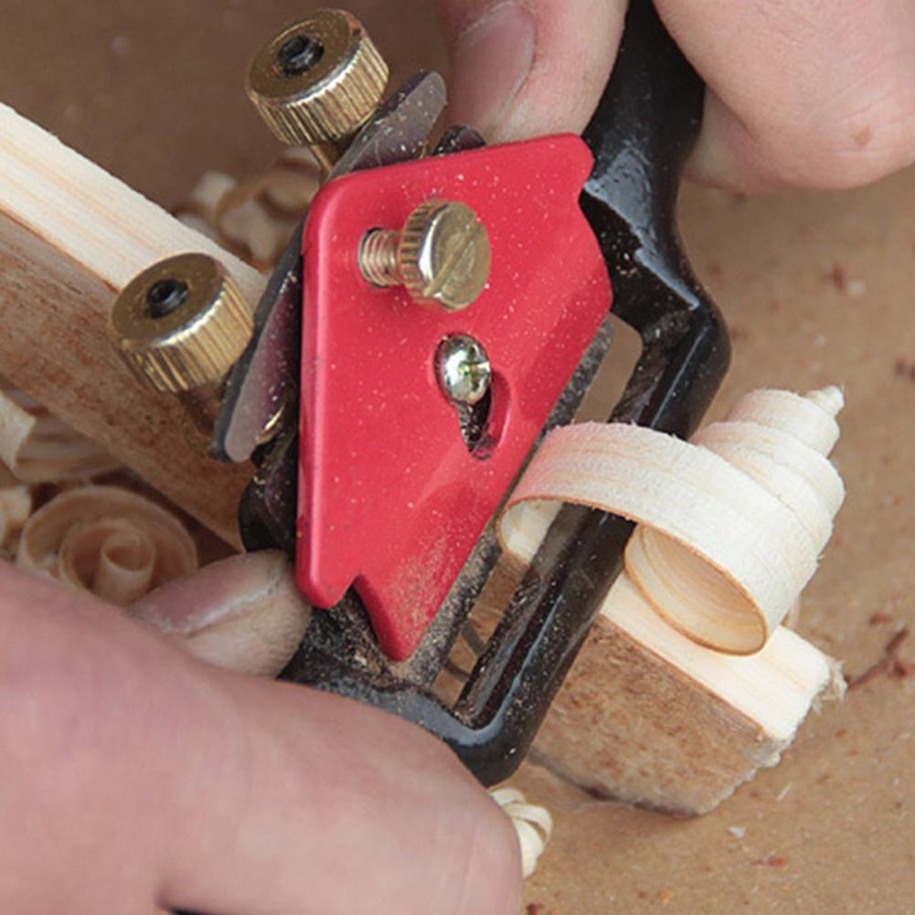 9 Inch Woodworking Cast Iron Woodcraft Blades Carpenter Hand Tool DIY Shave Cutter Planer