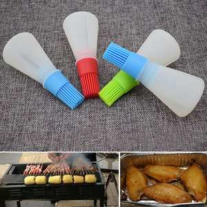 Random BBQ Silicone Baking Pastry Wine 40C Sauce Oil Bottle
