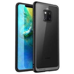 Image 2 - Pour Huawei Mate 20 Pro etui LYA L29 2018 SUPCASE Style UB anti coups Premium hybride pochette de protection en polyuréthane thermoplastique + coque arrière transparente