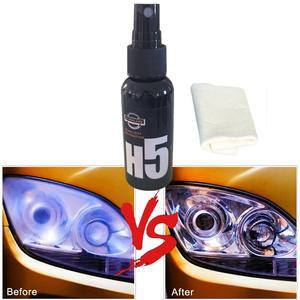 Image 4 - 1 Pcs 50ML Car Polish Car Lamp Restoration Kit Headlight Agent Brightening Headlight Repair Lamp Renovation Agent Paint Care