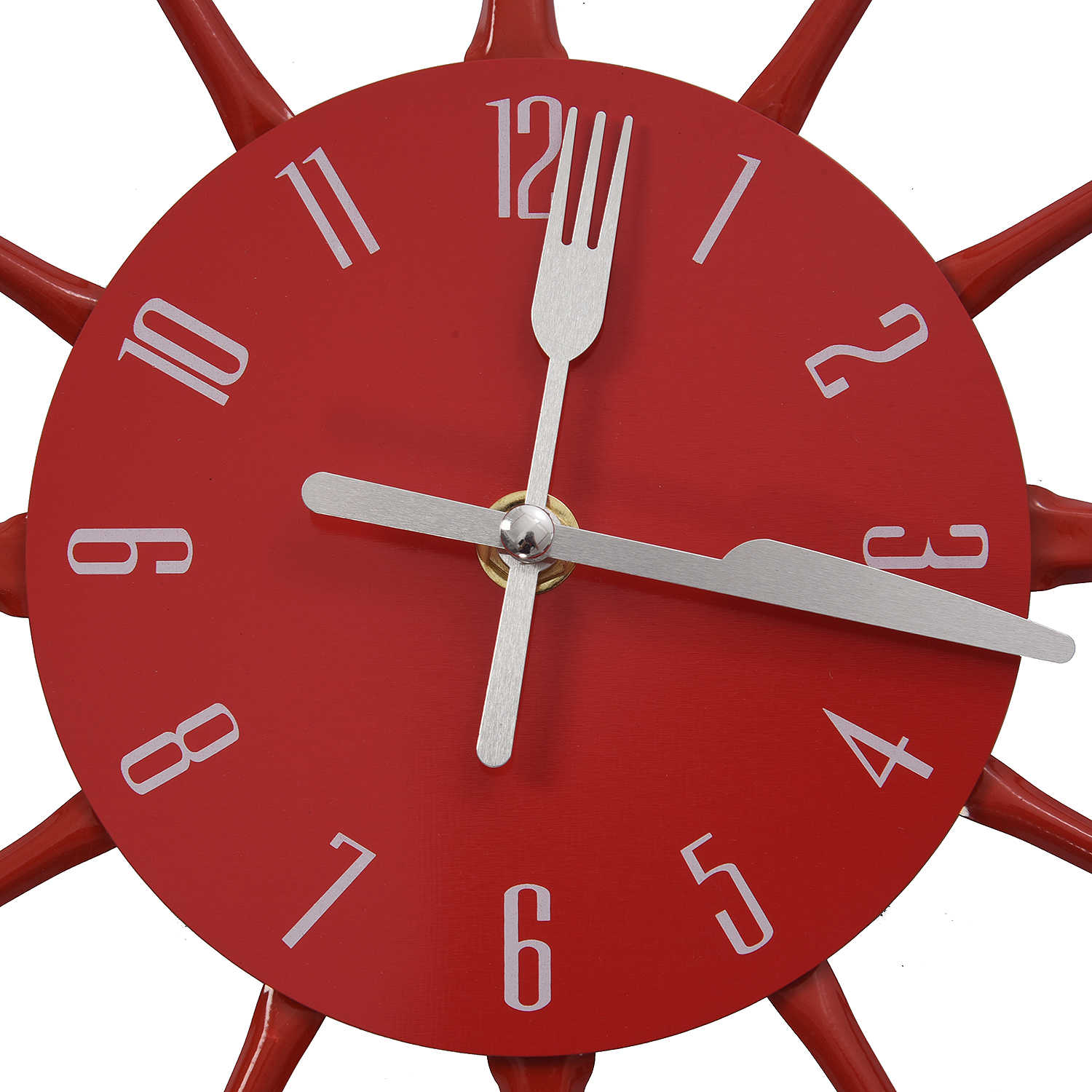 Housewares Cutlery Wall Clock