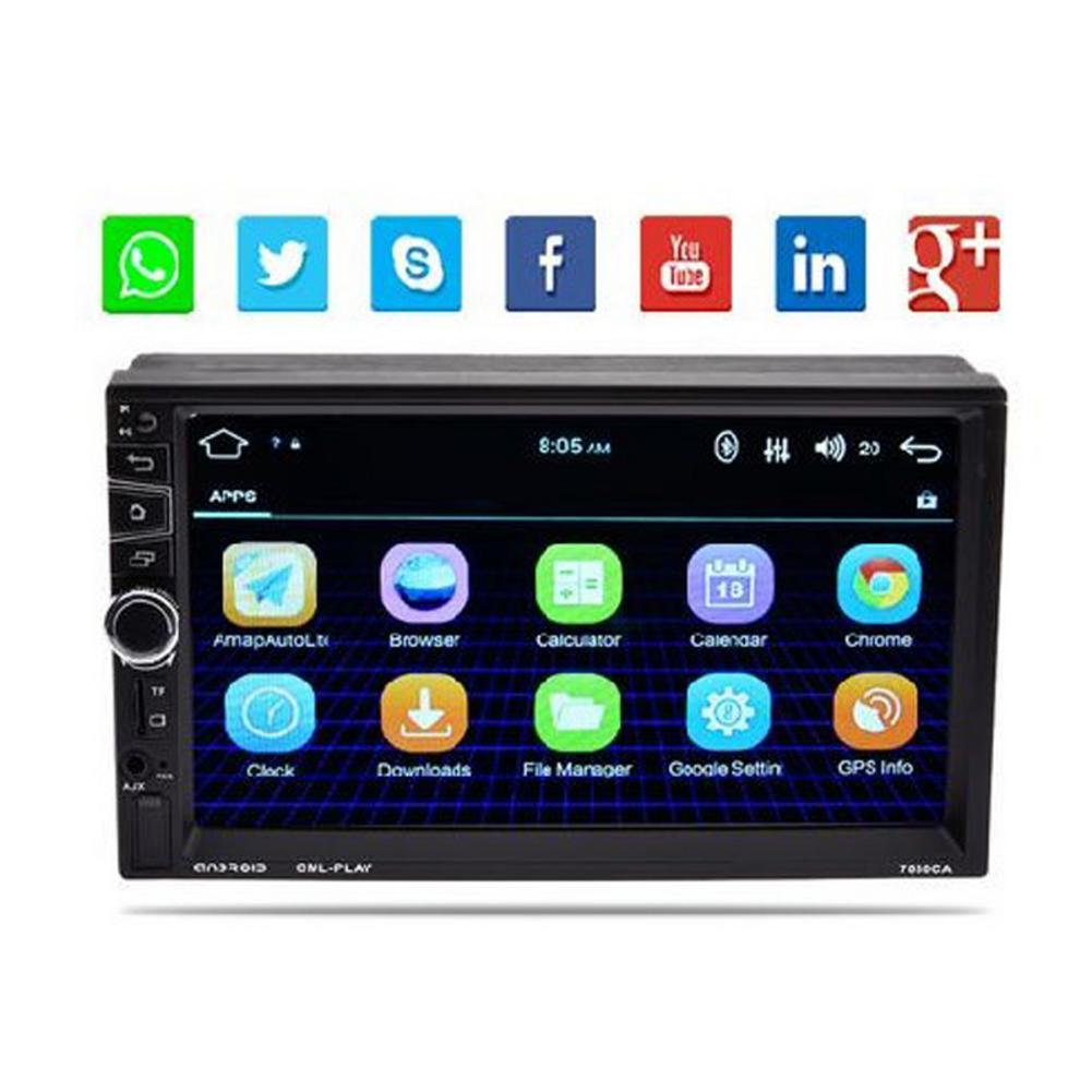 7 Inch Android 5.1 Car MP5 Player Full HD 1080P Car 2 Din Bluetooth MP5 Player GPS Navigator Phone MP5 Car Player Drop Shipping