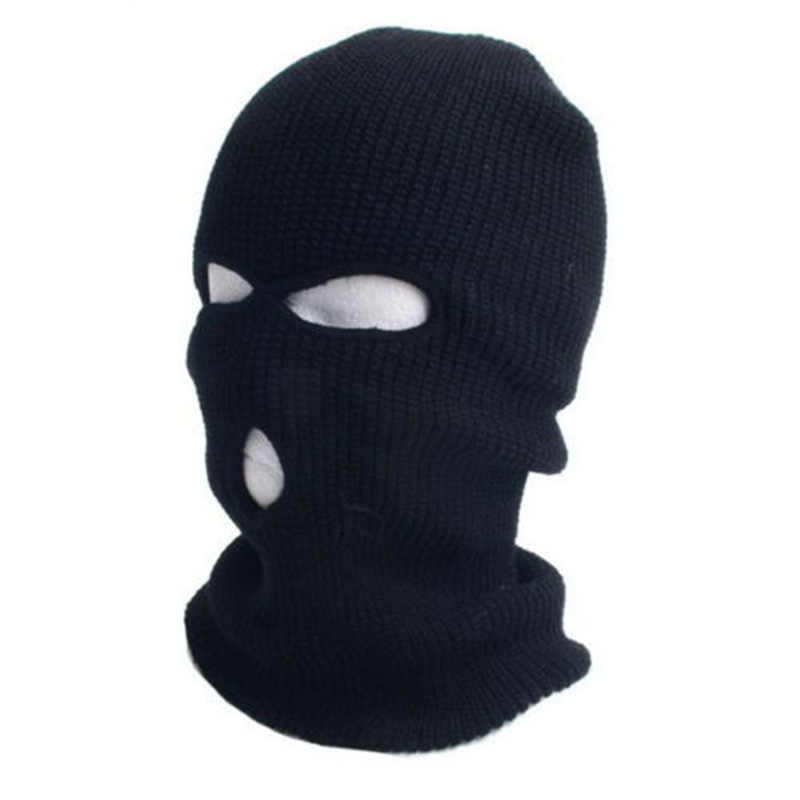5dbd1877681 Detail Feedback Questions about Army Tactical Mask 3 Hole Full Face Mask  Ski Mask Winter Cap Balaclava Hood on Aliexpress.com