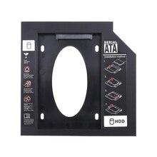 Ультратонкий для ноутбука 7-12.7Mmnotebook Pc Cd диск слот Hdd Ssd держатель кронштейн пластиковый Sata жесткий диск Оптический отсек с Sc