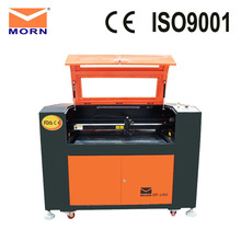 80W RECI Laser Tube CO2 Laser Engraving and Cutting Machine with CW3000 water chiller for non-metal material цены