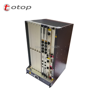 Image 3 - 10G OLT Huawei MA5683T GPON OLT Chassis with 2xSCUN + 2xPRTE + 2x X2CS + 1xGPFD C++ Module 16 ports
