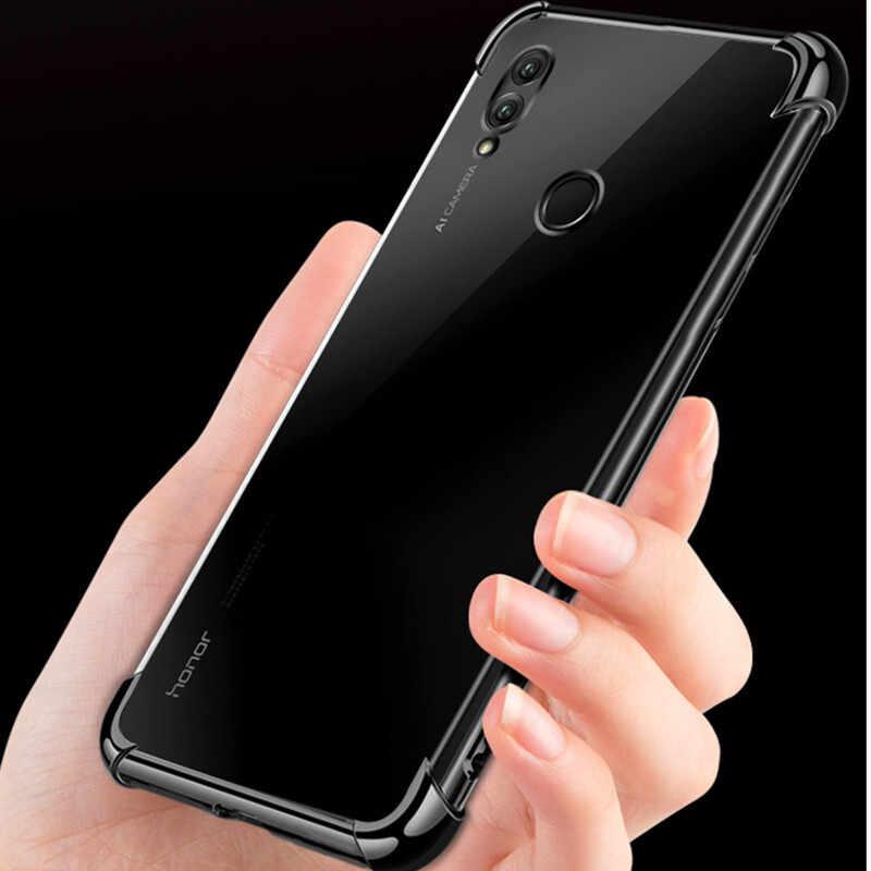 スリムクリア耐震カバー huawei 社 Mate20 lite プロメイト RS ノヴァ 3 3i 1080p スマートプラス Y5 Y7 2018 名誉 note10 8 × 10 9 lite