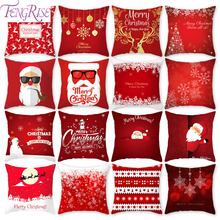 FENGRISE Christmas Pillow Case Noel 2018 New Decor For Home Gifts Ornaments Year 2019 Navidad Xmas