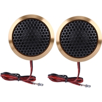 Pair of 12V 180W Car Mini Super Power Loud Dome Audio Speaker Tweeter Som Automotivo Loudspeaker Horn Oto Aksesuar