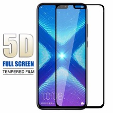 5D Glass For Huawei P20 Mate 20 X Pro Lite Honor 9 10 8X Screen Protector Tempered Glass For Huawei  Honor Play Protector Film цены