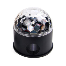 9W Music DJ Party RGB Projector Stage Light Led Lamp Bluetooth Speaker Rotating With Remote Control Disco(China)