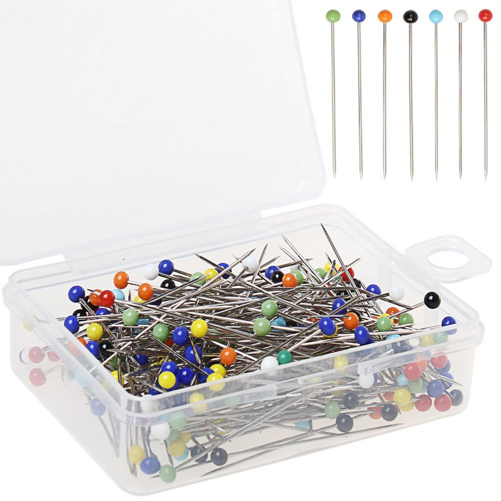 Top 100Pcs Sewing Accessories Patchwork Pins Sewing Pin