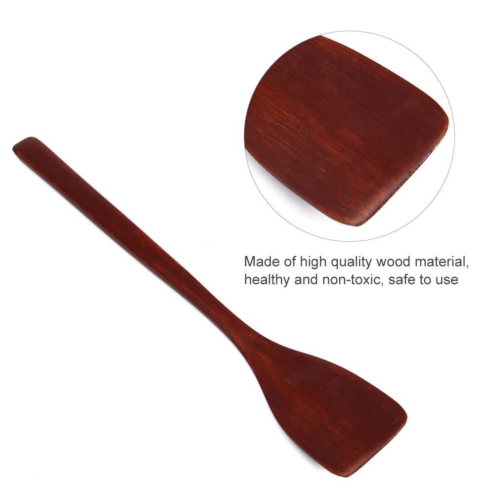 Без палки деревянная лопатка токарь бытовой жареные кухонная лопатка кухни посуда лопата высокого качества