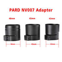 PARD NV007 Digital Night Vision Adapter Sleave 42/45/48mm 3 size bayonet Fit for NV007 night Vision 48mm Bracket