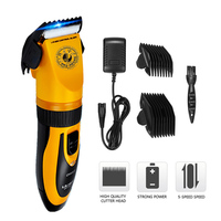 High Quality Pet Electrical Clipper Shave 35W Scissors Pet Hair Trimmer Animals Grooming Clipper Dog Hair Trimmer Cutter Set