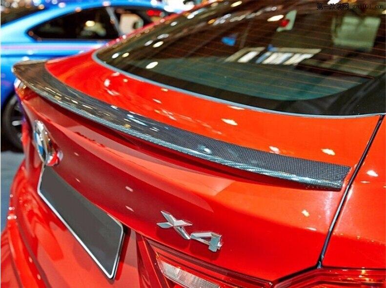 Nouveau 100% fibre de carbone voiture aile arrière coffre SPOILER pour BMW F26 X4 2014 2015 2016 2017 2018 rapide par EMS