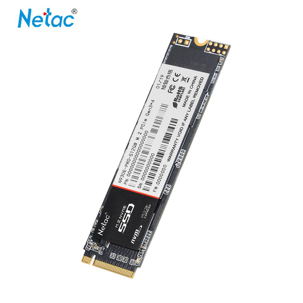 Netac N930E Pro SSD M.2 2280 SSD 128 GB NVMe PCIe Gen3 * 4 3D MLC/TLC NAND Flash solid State Drive