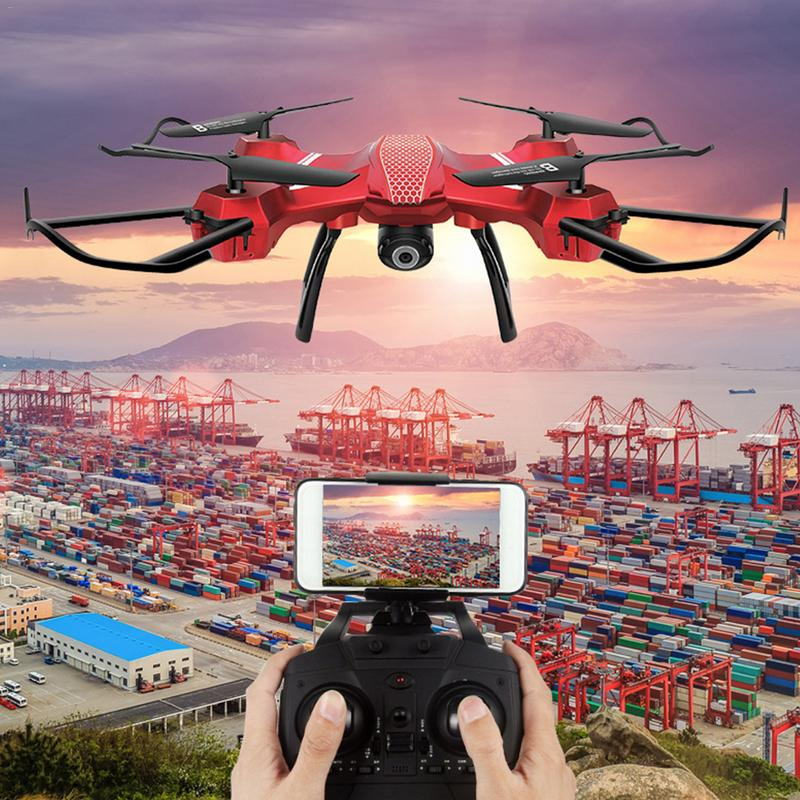 Quatre-Axe Avions Fixe-Air Aérienne Drone Télécommande Toy Avion Hélicoptère Sans Tête Mode Avec Caméra Rc Quadcopter