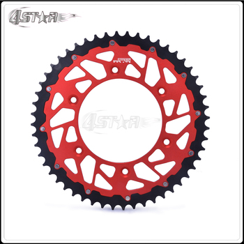 Motorbike 45 47 48 49 50 51 52 T CNC Rear Chain Sprocket For HONDA CR125R CR250R CR500R CRF XR250R XR400R XR600R XR650R