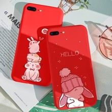 Original 3D Relief Animal Case For iPhone 8 Plus Ultra Slim Shockproof Cover 6s 7 Cute XR XS Max