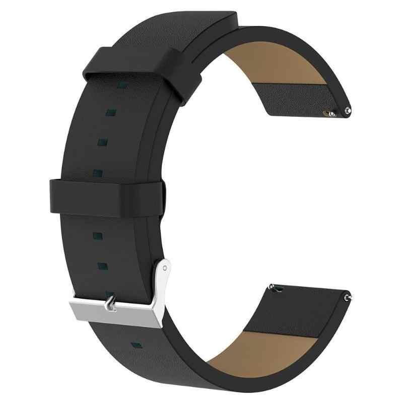 ALLOYSEED פרה עור חכם שעון רצועת עבור Fitbit Versa לייט/Versa/Blaze Smartwatch להקת צמיד ספורט צמיד צמיד