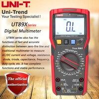 UNI T UT89X/UT89XD professional NCV digital multimeter; true RMS digital multimeter, 20A high current digital multimeter