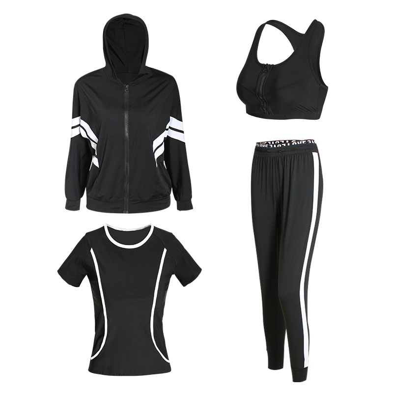 Yoga Set Girls Health Clothes Sportswear Girls Tracksuits Girls Set Health club Clothes Girls's Sports activities Go well with 4 Items Yoga Units, Low-cost Yoga Units, Yoga Set Girls...