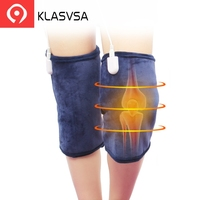 KLASVSA Electric Warm Heating Knee Adjustable Brace Support Wormwood Physical Therapy Warm Spine For Leg Bone Warm Pain Relief