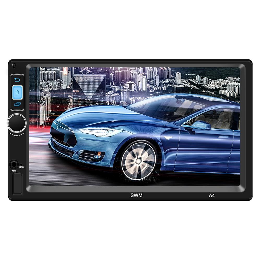 Unterhaltungselektronik Mp3-player A4 Gps Auto Player Rückansicht Umkehr Bluetooth Multimedia Player Android 8.1 7 Zoll 1024*600 Hd Auto-player