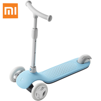 Original Xiaomi MiTU Child Scooter for 3 6 Years Old Kids Multiple Security Balanced Adjustable Infant with Light Lamp Head
