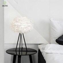 Modern Led Feather Floor Lamp Loft Deco Standing Living Room Bedroom Nordic Light Fixtures Wedding Luminaire Lighting