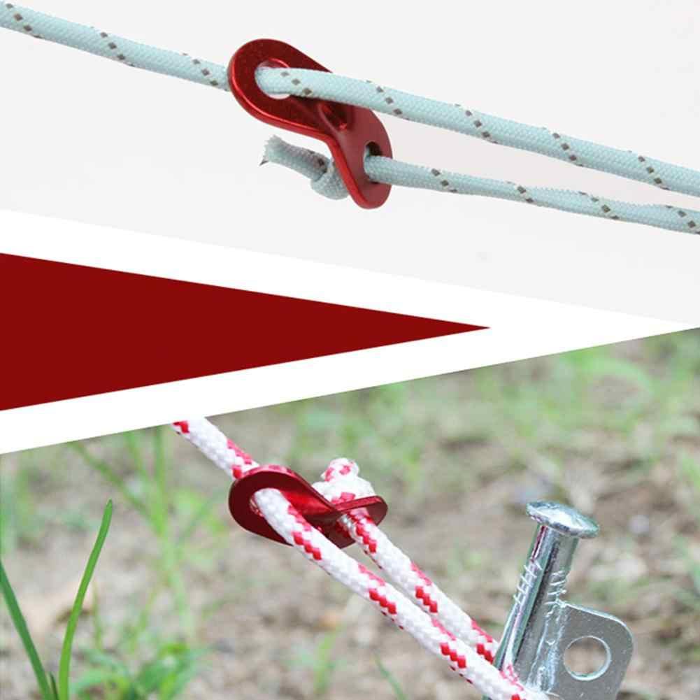 Mounchain 1 шт. верёвка для скалолазания на открытом воздухе Пряжка из алюминиевого сплава Парашютная веревка Пряжка Шторы фитинг Пряжка для крепления