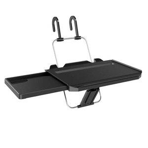 Image 3 - Multifunctional car Foldable Laptop Computer Stands Non Slip Gear Hook Hide Cup Holder Lap Desk Sofa Bed Reading Notebook Laptop