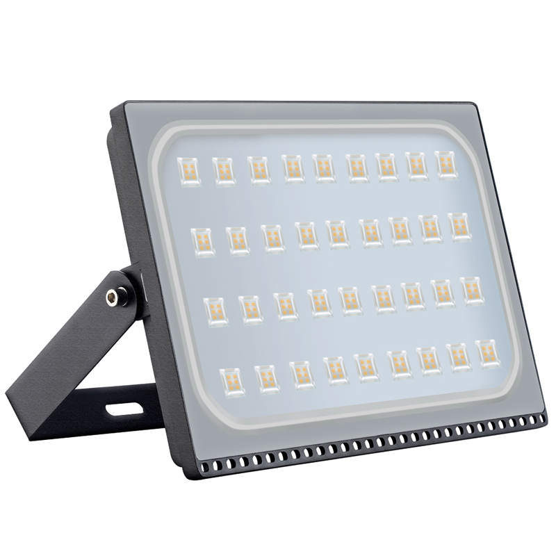 2PCS Ultra thin Led Flood light 200W IP65 Outdoor Floodlight Lamp Reflector Led Spotlight Outside Garden Street Light 220v 110v led flood light 200w eptar led floodlight outdoor lighting 220v 240v led reflector spotlight ip65 waterproof garden lamp