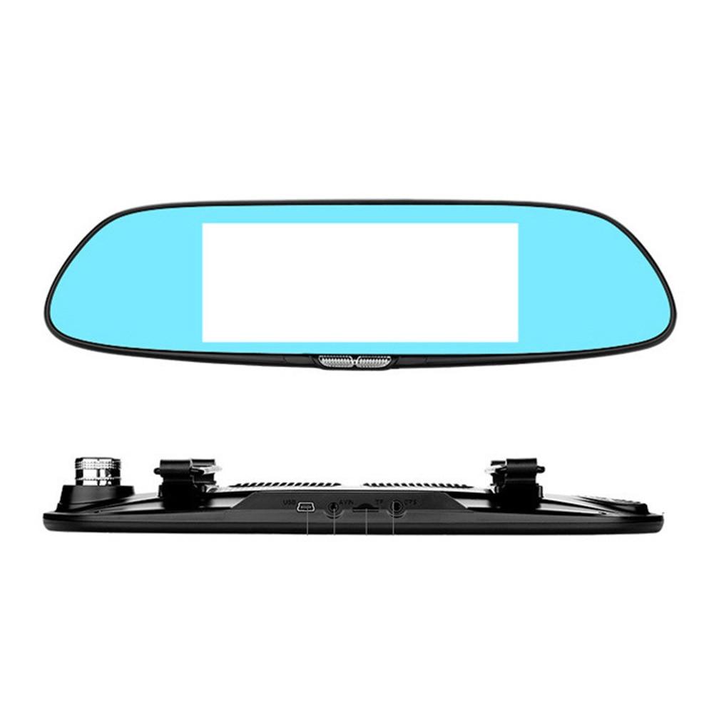 Car DVR Rearview Mirror Camera Recorder Dash Cam G-sensorCar DVR Rearview Mirror Camera Recorder Dash Cam G-sensor