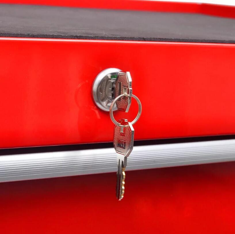 VidaXL 7 ярусов полка Тяжелая мастерская гараж DIY инструмент для хранения тележки колеса тележки лоток емкость для хранения тяжелого оборудования - 5