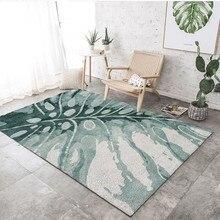 Скандинавский ковер с цветочным узором, ковер для гостиной, декоративный коврик для дивана, журнального столика, коврик для спальни, коврик для йоги, прямоугольная прикроватная 3D одеяло