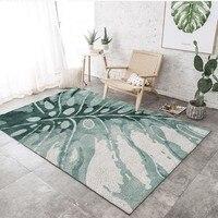 נורדי פרח דפוס שטיח בסלון תפאורה ספה קפה שולחן מחצלת שטיחים שינה יוגה כרית מלבני המיטה 3D שמיכה