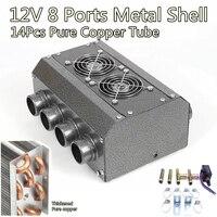 8 Port Dual Sides Universal Under dash 12V Heater for Muscle Vintage Car