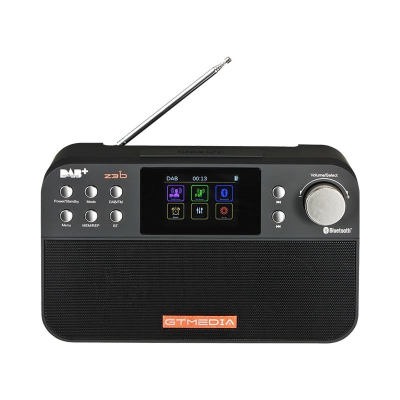 Gtmedia Z3B Portable Digital Dab Fm Stereo Radio Receiver Tft Alarm ClockGtmedia Z3B Portable Digital Dab Fm Stereo Radio Receiver Tft Alarm Clock