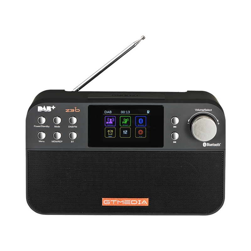 Gtmedia Z3B Portatile Digitale Dab Fm Stereo Radio Receiver Tft Allarme OrologioGtmedia Z3B Portatile Digitale Dab Fm Stereo Radio Receiver Tft Allarme Orologio