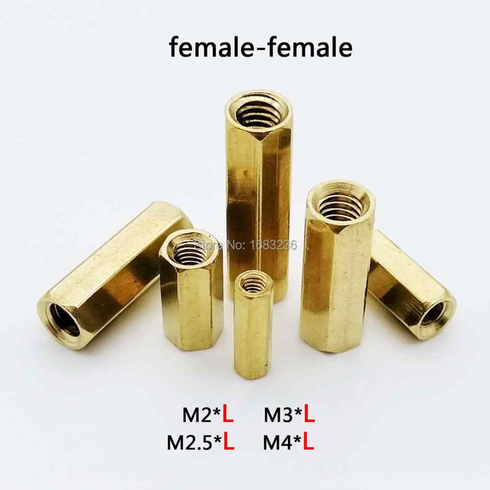 Hex M4 Female Pillar Standoff Hexagonal Nickel Spacer Support