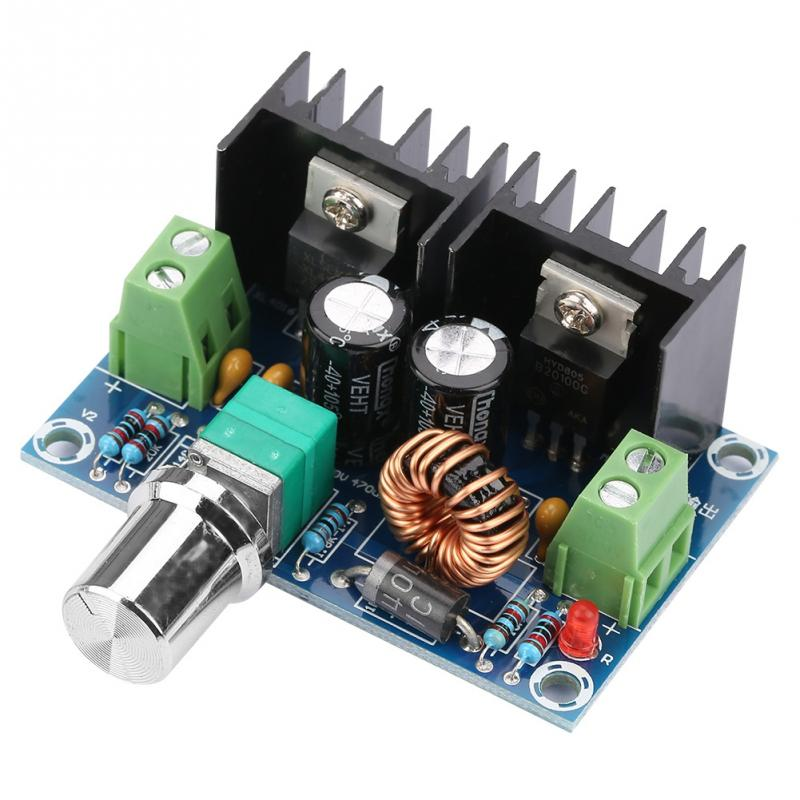 DC-DC Voltage Regulator High Power Step-Down Module PWM modulation Adjustable DC-DC voltage stabilizer power supply Hot Sale