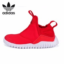 купить Adidas RapidaZen Original Kids New Pattern Canvas Children Running Shoes Breathable Light Sneakers #B96352 по цене 2872.29 рублей