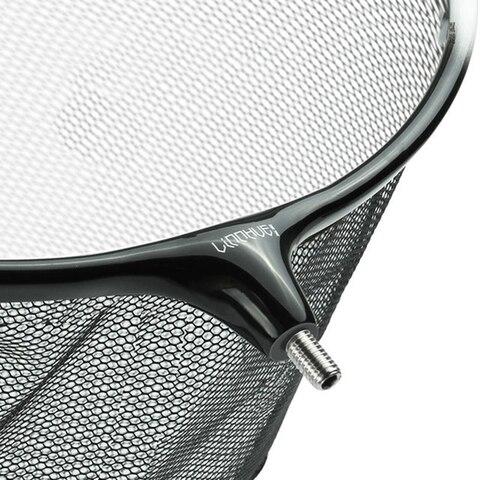 cabeca redes de pesca brail liga de titanio nano mao net para a pesca landing